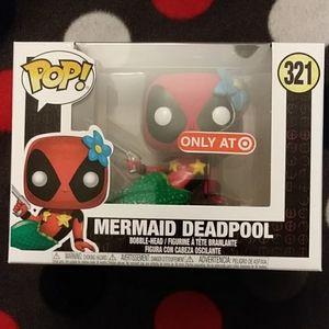 Mermaid Deadpool Pop